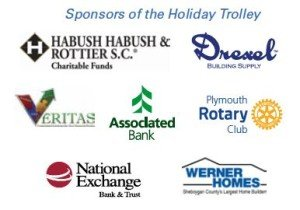 Holiday Trolly Sponsors