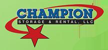 Champion Storage Rental LLC