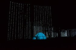 • 160 String Light Curtain in Polar Bear Playground
