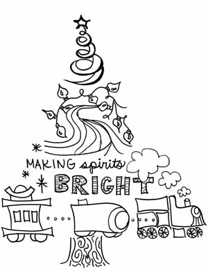 MSB Coloring Book Page