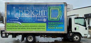 Sheboygan County Food Bank Truck